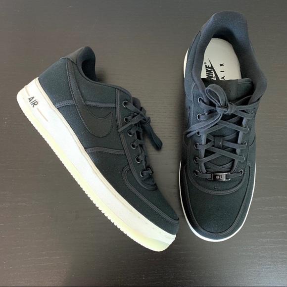 Nike Air Force 1 Low Canvas Black AH1067 004  AH1067 004